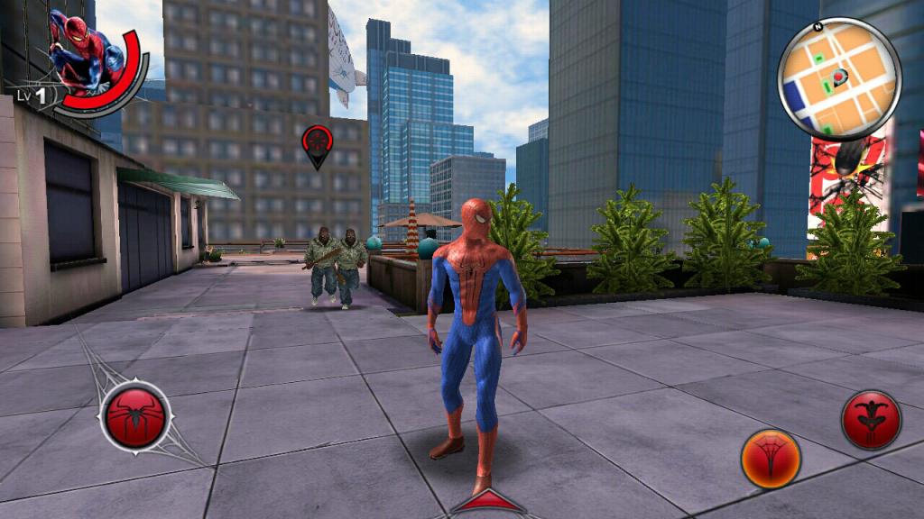 مرد عنکبوتی را در اندروید تجربه کنید+ دانلود