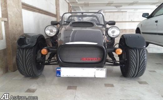 این ماشین شبه عتیقه انگلیسی را در تهران 250میلیون تومان می فروشند/عکس