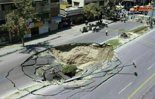 شایعه 7 سال پیش تهران دوباره جان گرفت+تصاویر