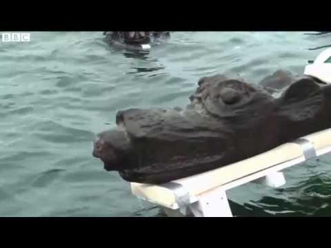 بیرون آوردن هیولای دریایی از دریای بالتیک ! + تصاویر