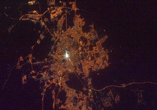 تصاویرمکه و مسجدالنبی(ص) از فضا