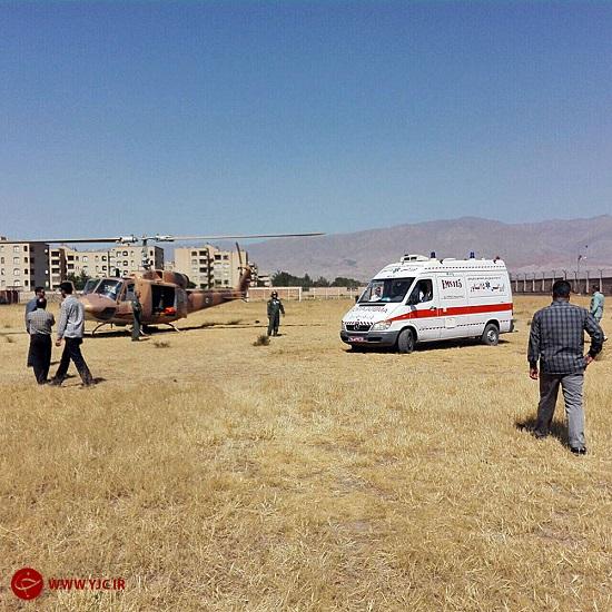 5 نفر در انفجار در منزل مسکونی سوختند/ انتقال مجروحان با بالگرد + تصاویر