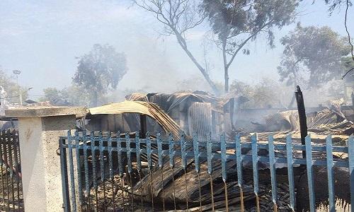 آتشسوزی در ساختمان گردشگری منطقه آزاد قشم