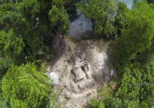 جدیدترین یافتهها از معبد مدفون زیر آب متعلق به مایاها
