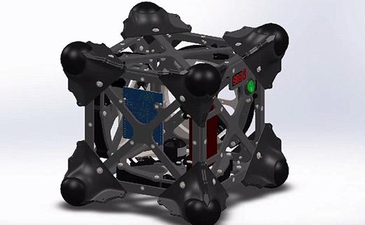 ربات جوجه تیغی به کشف ناشناختهها بر روی سیارکها میرود + تصاویر