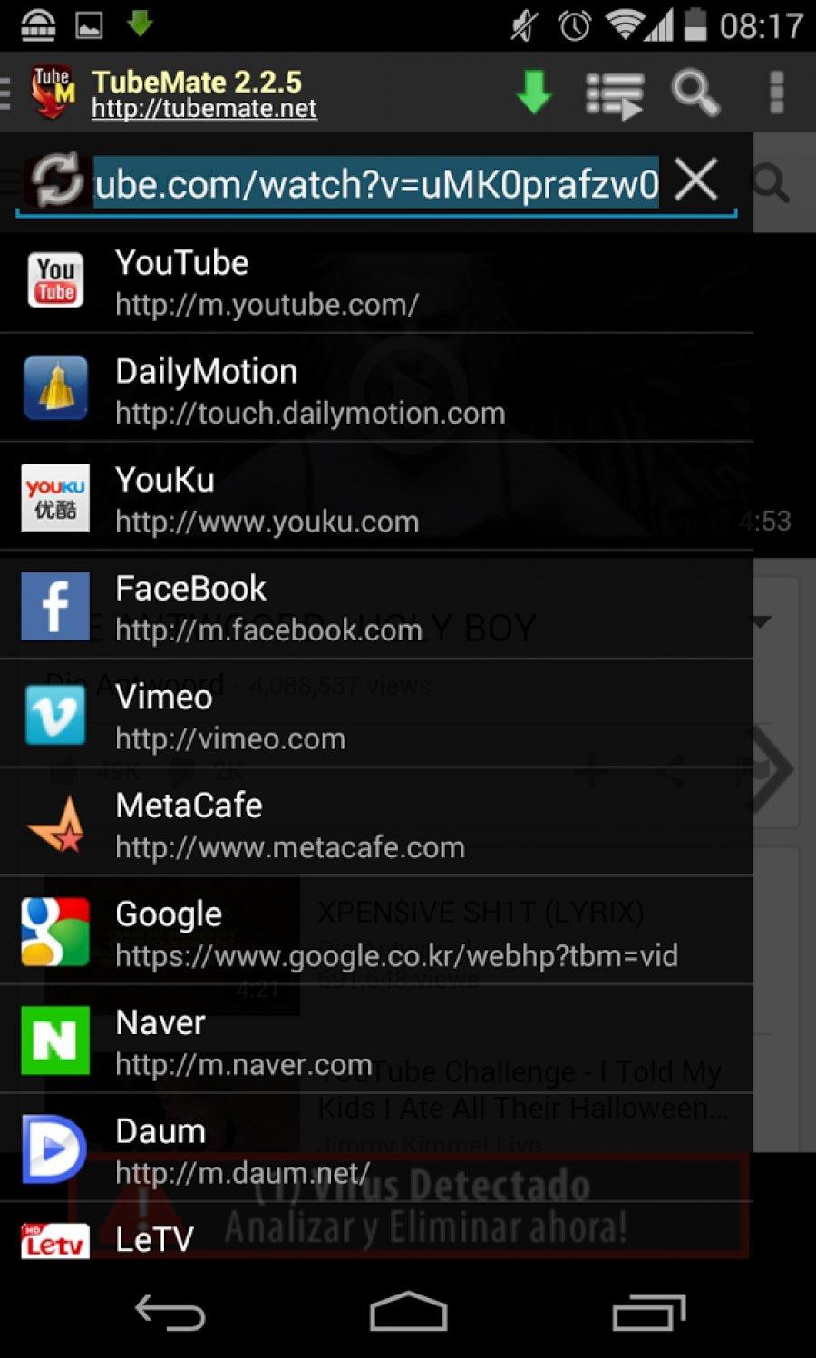 با لمس یک دکمه فیلم ها را از یوتیوب دانلود کنید+ دانلود