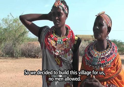 دهکدهای بدون مردان + تصاویر