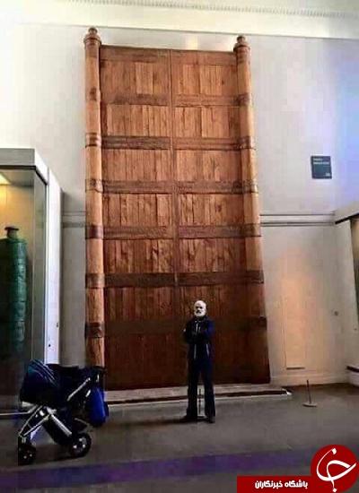 درب خیبر در موزه پاریس +عکس و سند