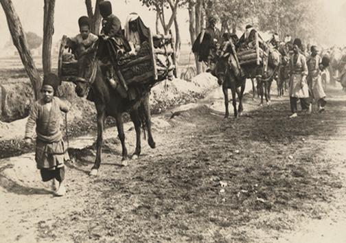 عکس/ کاروان زائران مکه در عصر قاجار