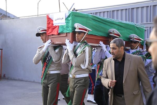 تشییع پیکر جان باختگان حادثه مکه در فرودگاه مهرآباد + عکس