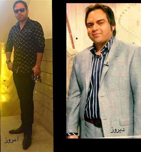 بازیگر مشهور قبل و بعد از رژیم و ورزش +عکس