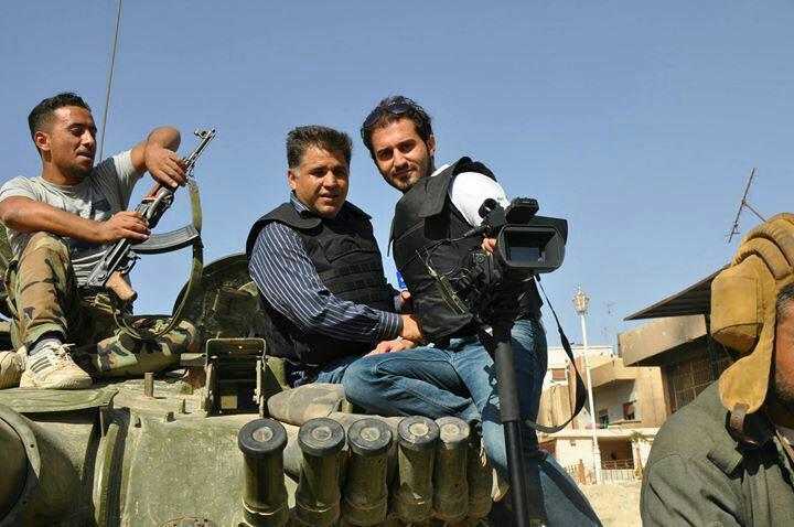 خبرنگار صدا و سیما در دمشق مجروح شد+ تصاوير