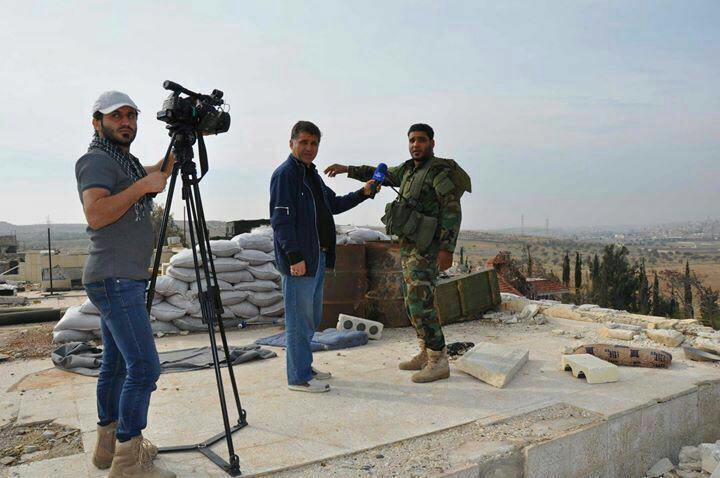 خبرنگار صدا و سیما در دمشق مجروح شد+ تصاویر
