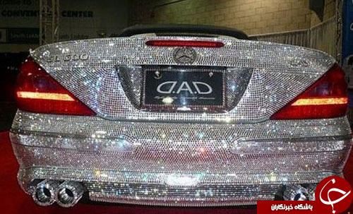 خودروی الماس نشان شاهزاده عربستانی+عکس