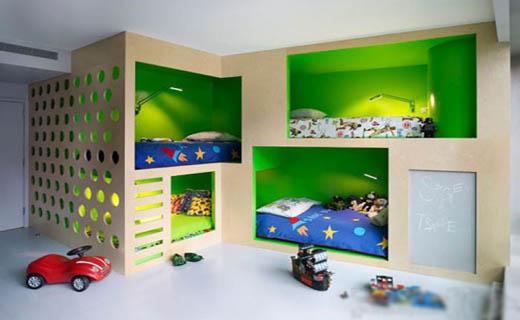 بی نظیر ترین تخت های اتاق کودک+تصاویر