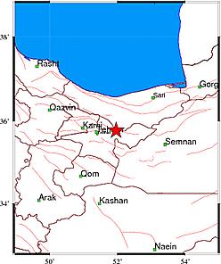 جزئیات زلزله تهران