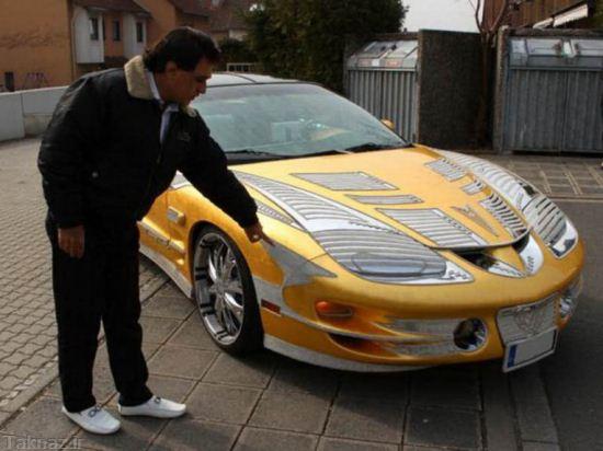 ماشین 4 میلیاردی یک ایرانی در آلمان +تصاویر