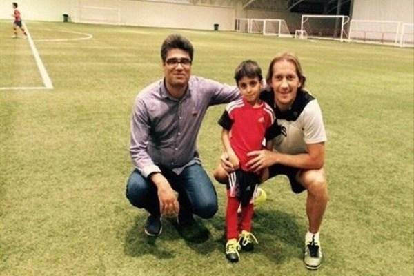 نابغه ۶ ساله ایرانی به تیم رئال مادرید پیوست + عکس