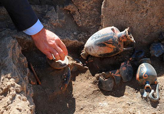 کشف مقبرهای تاریخی پَُمپی ایتالیا