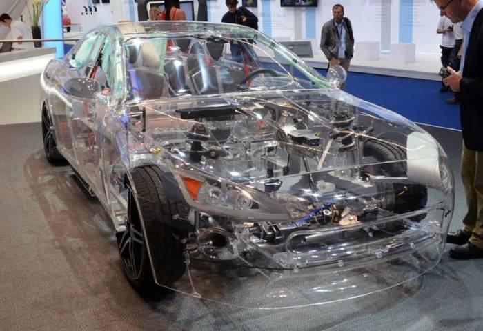ساخت خودرو شیشه ای در آلمان +عکس