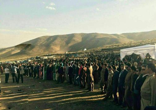 عروسی بسیار خاص در کردستان؛هشت هزار مهمان،هشت میلیارد کادو!
