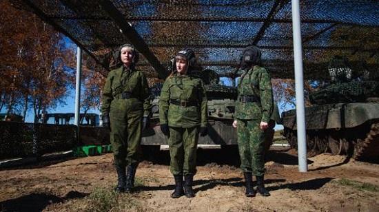 خشن ترین سربازان زن دنیا! +تصاویر