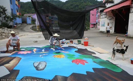 رنگارنگ ترین روستا در جهان+تصاویر