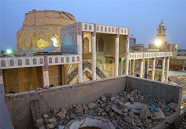 اتمام عملیات ساخت و نصب گنبد مطهر حرمین شریفین امامین عسکریین(علیهما السلام)