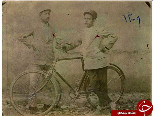 تاریخچه ورود اولین دوچرخه به تهران +تصاویر