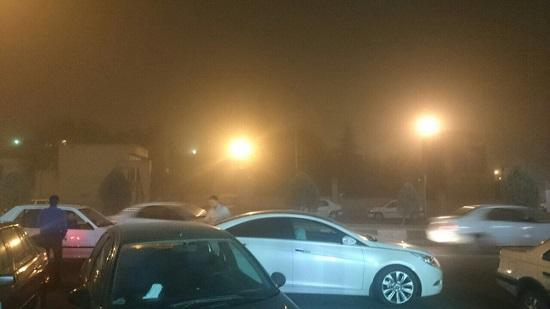 طوفان و گرد و غبار تهران را فراگرفت/ آخرین وضعیت ترافیکی پایتخت