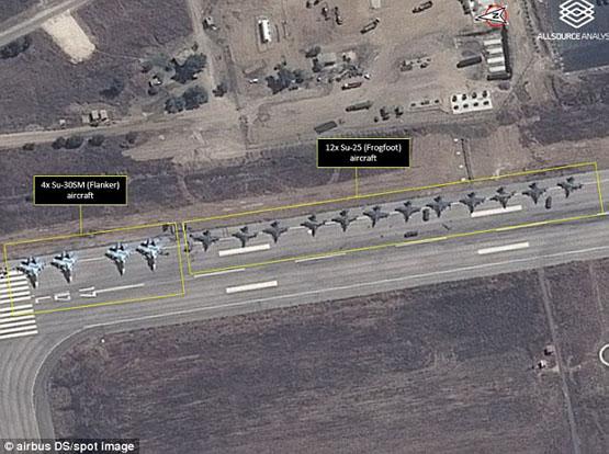 استقرار جنگندههای پیشرفته روسی در پایگاههای نظامی سوریه+ عکس