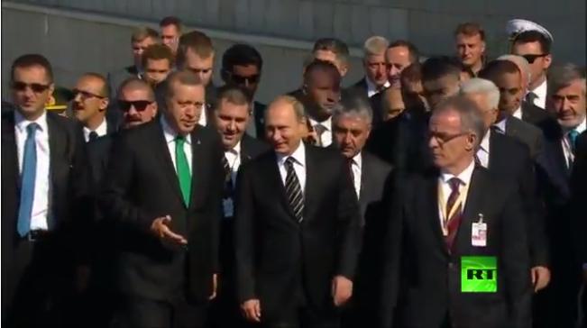 آغاز مراسم افتتاح مسجد جامع مسکو+تصاویر
