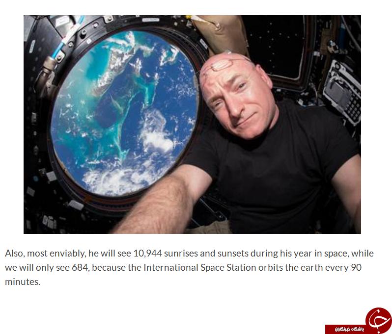 شب و روز از دوربین مردی که یکسال در فضاست + تصاویر (قسمت دوم)