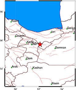 زلزله تهران را لرزاند + جزئیات