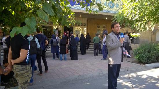 اولین جلسه دادگاه بابک زنجانی آغاز شد + تصاویر
