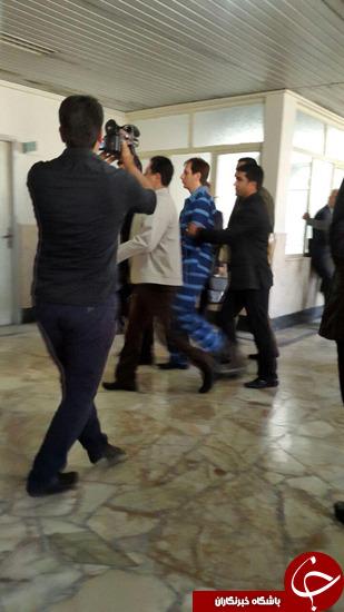 اولین عکس بابک زنجانی در دادگاه انقلاب منتشر شد