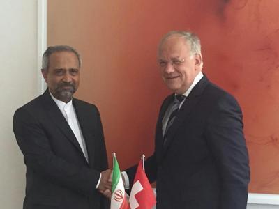 بررسی روابط تهران - برن در دیدار نهاوندیان با معاون رییسجمهور سوئیس