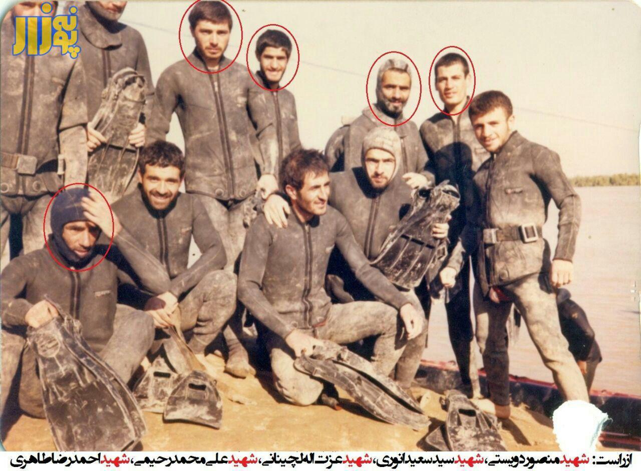کمپین اینجا با شهدا/ here with martyrs campaign