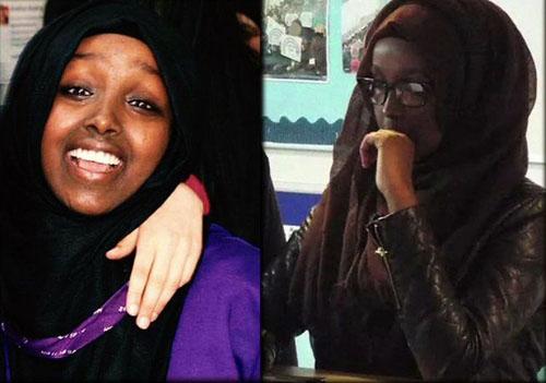 خواهران دوقلوی داعشی به خانواده خود هم رحم نمیکنند+ تصاویر
