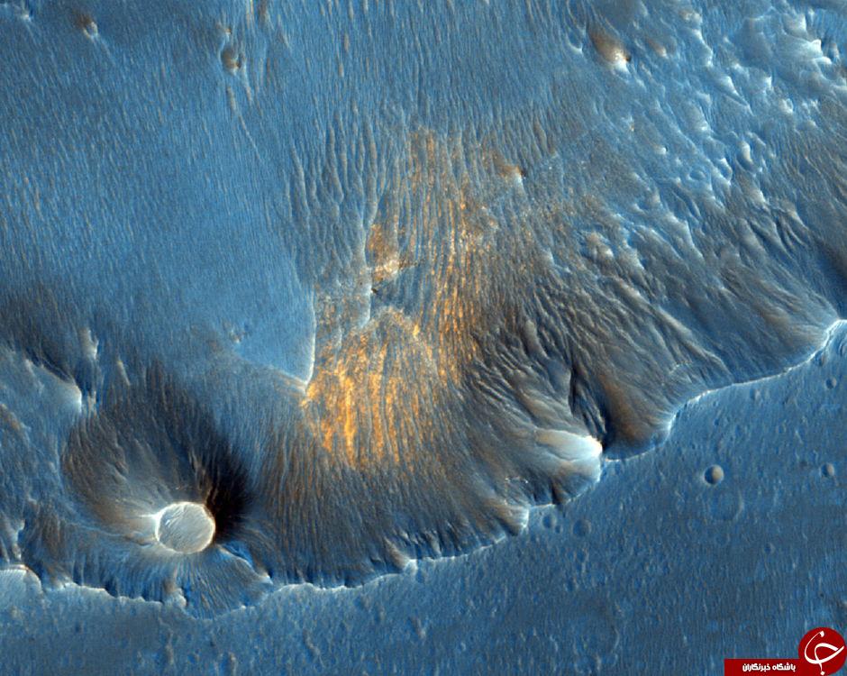 سطح عجیب سیاره سرخ + 19 عکس