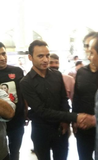 حضور محمود احمدی نژاد در مراسم/ کفاشیان وارد سالن شد