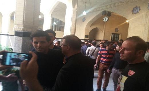 اظهارات احمدینژاد در مراسم ترحیم هادی نوروزی/ همسر ناصر حجازی هم آمد+ تصاویر