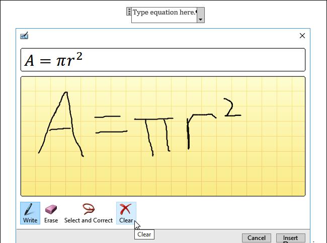 حل معادلات ریاضی خود را به Office 2016 بسپارید + آموزش