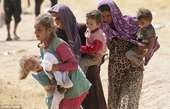 شیوه تلخ و غیرانسانی داعش برای تغییر دین زنان ایزدی+ تصاویر