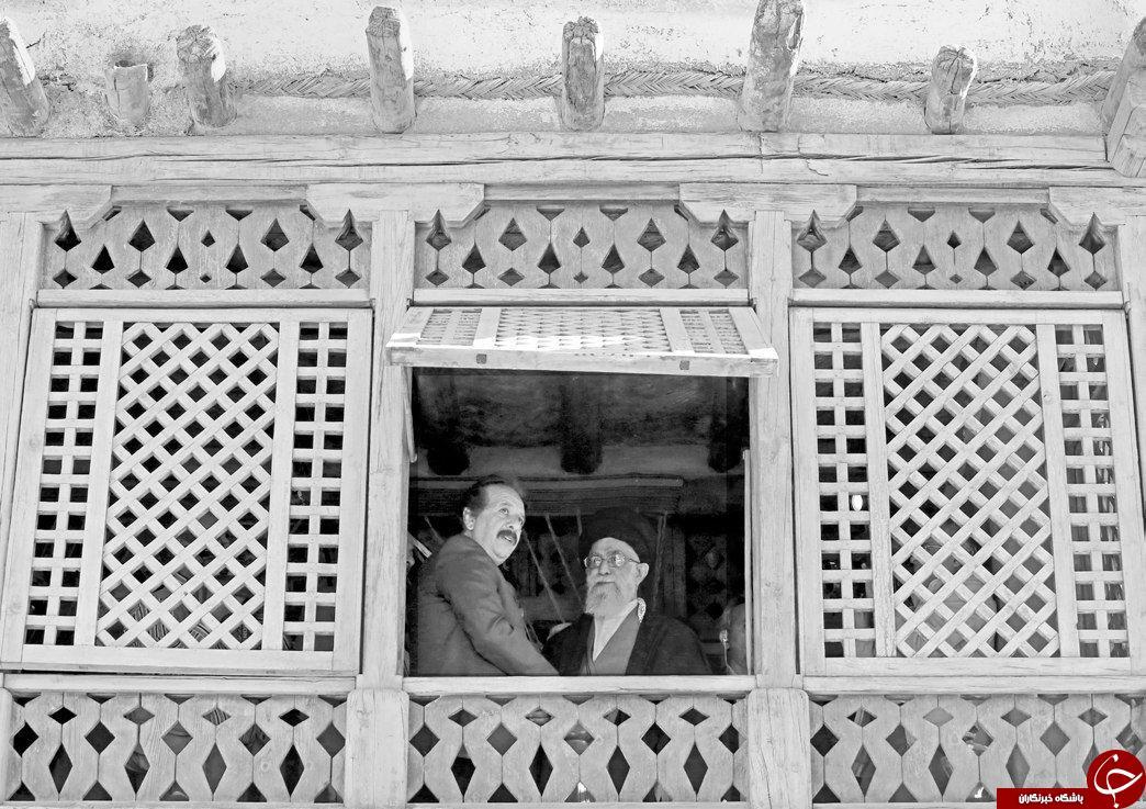 عکس دیده نشده بازدید رهبری از لوکیشن فیلم محمد رسول الله
