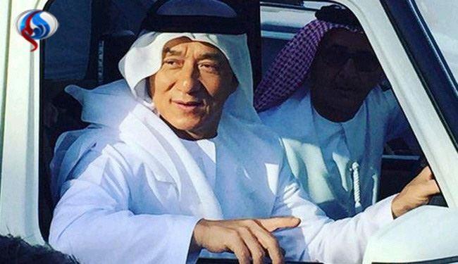 جکی چان در لباس عربی!