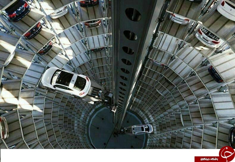 تصاویر پارکینگ شگفت انگیز شرکت BMW