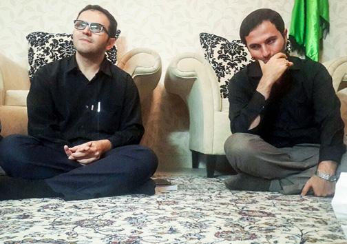 عکس/ پسران سردار همدانی پس از شهادت