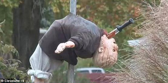 هالووین زندگی در آمریکا حامیان تروریست حامیات داعش جنایات آمریکا