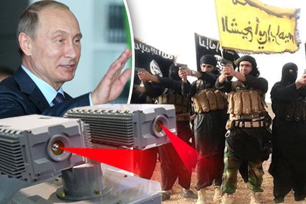 سلاح وحشتناک روسیه برای نابینا کردن عناصر داعش + تصاویر